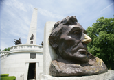 Lincoln's Tomb in Oak Ridge Cemetery, Springfield IL - 20 minutes from the Route 66 Hotel and Conference Center
