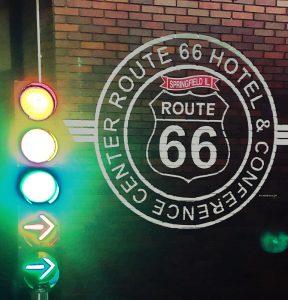 Route 66 Hotel in Springfield, IL - historic Route 66 memorabilia.