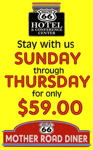 Route 66 Hotel & Conference Center's Weekday Hotel Package – Stay with Us for $59!