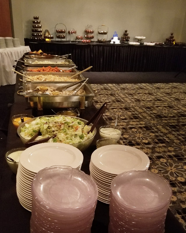 Route 66 Hotel and Conference Center in Springfield - wedding and conference catering