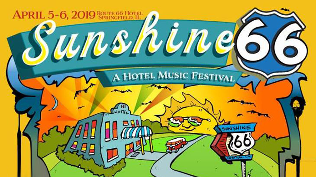 Take a trip down Route 66 and join us at the states capital at the Route 66 Hotel and Conference Center for a 2 day music festival in Springfield, IL on April 5-6, 2019.